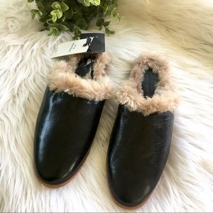 Bloggers Favorite Zara Leather Mules Slip On Black